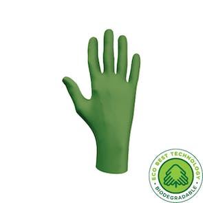 Showa 6110PF Biodegradable Disposable Nitrile Gloves