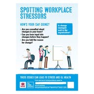 Spotting Workplace Stressors Poster