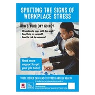 Spotting The Signs Of Workplace Stress Poster