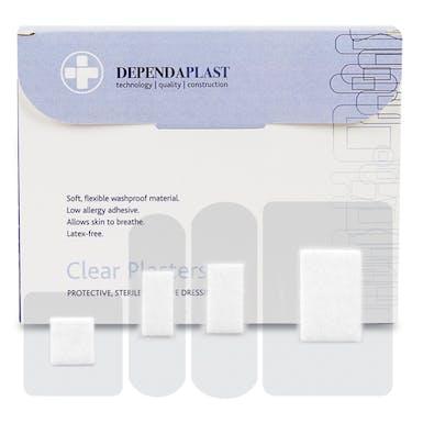 Dependaplast Clear Washproof Plasters
