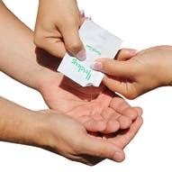 65% Alcohol Single Use Hand Gel Sachets