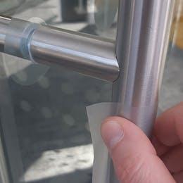 SilvA Anti-Microbial Door Handle Coverings