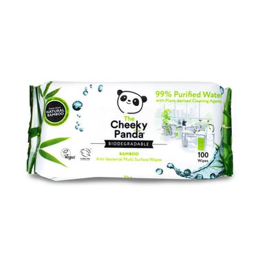 Cheeky Panda Anti-Bacterial Bamboo Multi Surface Wipes