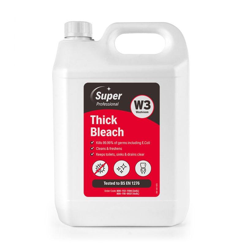 Super Professional 5 Litre Thick Bleach