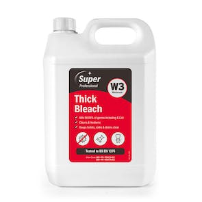 Super Professional 5 Litre Thick Bleach