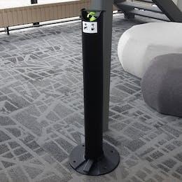 Premium Floor Standing Sanitiser Dispenser
