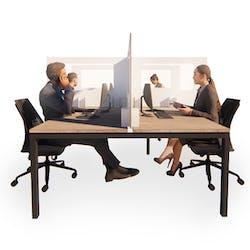 Recyclable Desk Dividing Hygiene Screens