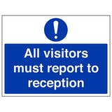 Visitor Safety Signs