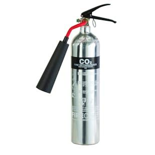 2KG Aluminium CO2 Fire Extinguisher