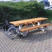 Anchorfast Plus Concrete & Timber Picnic Bench