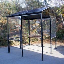 Apex 4-Sided Smoking Shelter - Aluminium Roof