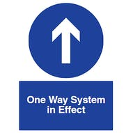 Direction Arrow - One Way System