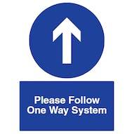Direction Arrow - Please Follow