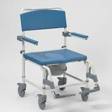Aston Heavy Duty Shower/Commode Chair