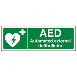 Automated External Defibrillator- Landscape
