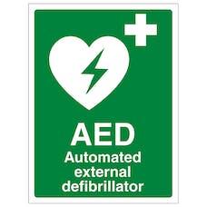 Automated External Defibrillator- Portrait