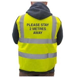 Please Stay 2 Metres Away