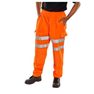 Beeswift Hi-Vis Jogging Bottoms