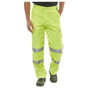Polycotton Hi-Vis Trousers