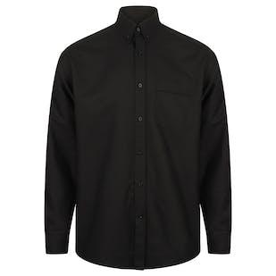 Henbury Long Sleeve Classic Oxford Shirt