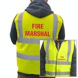 Value Hi-Vis Vest - Fire Marshall