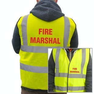 Value Hi-Vis Vest - Fire Marshall