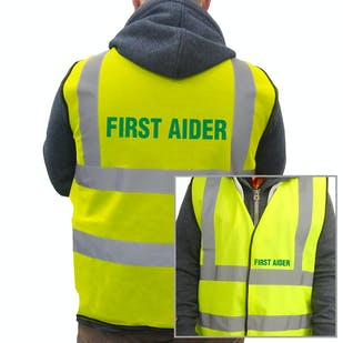 Value Hi-Vis Vest - First Aider