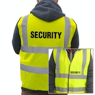 Value Hi-Vis Vest - Security