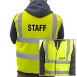 Value Hi-Vis Vest - Staff