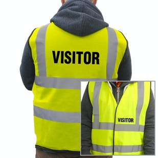 Value Hi-Vis Vest - Visitor