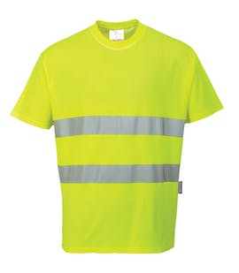 Portwest Cotton Comfort Hi-Vis T-Shirt