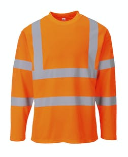 Portwest Hi-Vis Long Sleeve T-Shirt