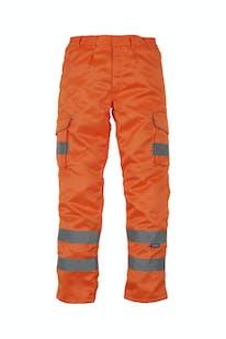 Yoko Polycotton Cargo Trousers with Knee Pad Pockets