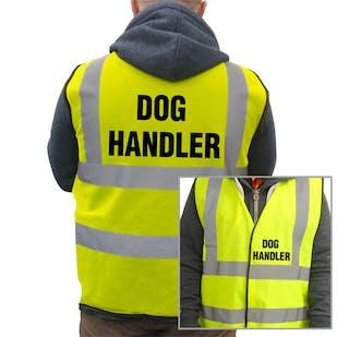 Value Hi-Vis Vest - Dog Handler