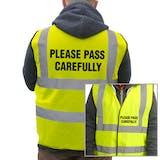 Value Hi-Vis Vest - Please Pass Carefully