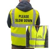Value Hi-Vis Vest - Please Slow Down