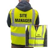 Value Hi-Vis Vest - Site Manager