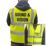 Value Hi-Vis Vest - Sound & Vision