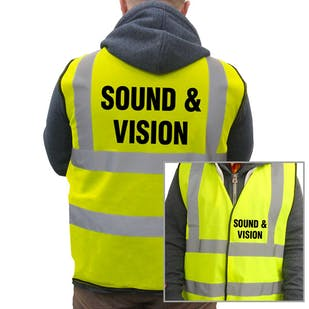 Value Hi-Vis Vest - Sound & Vision
