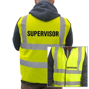 Value Hi-Vis Vest - Supervisor