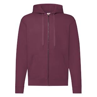 Fruit of The Loom Classic 80/20 Hooded Sweatshirt Jacket