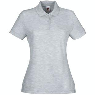 Fruit of The Loom Ladies 65/30 Polo Shirt