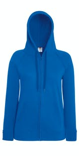 Fruit of The Loom Ladies Lightweight Hooded Sweatshirt Jacket