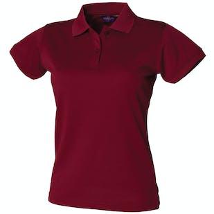 Henbury Ladies Coolplus Polo Shirt