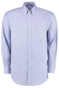 Kustom Kit Long Sleeve Oxford Shirt