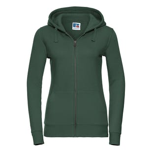 Russell Women's Authentic Zipped Hooded Sweatshirt