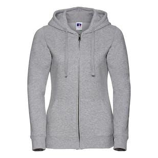 Russell Women's Authentic Zipped Hooded Sweatshirt
