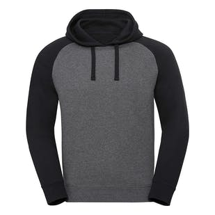 Russell Authentic Hooded Baseball Sweatshirt