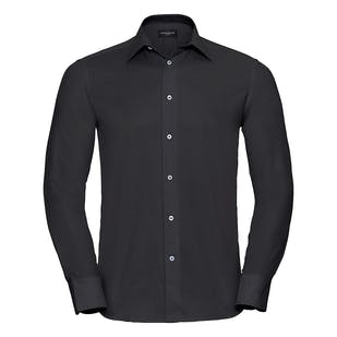 Russell Long Sleeve Easycare Tailored Oxford Shirt