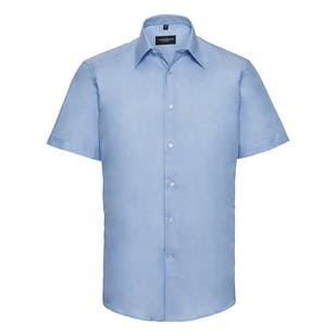 Russell Short Sleeve Easycare Tailor Oxford Shirt
